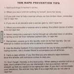 How not to rape list