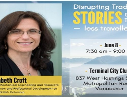 Dr. Elizabeth Croft a UBC professor and gender expert speaks tonight at WXN