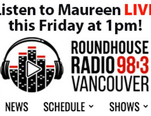 Listen to me talk about my books on Roundhouse Radio this Friday